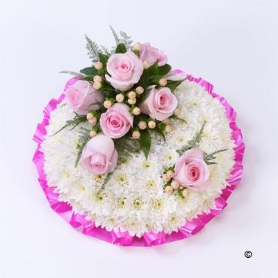 Pink and White Posy *