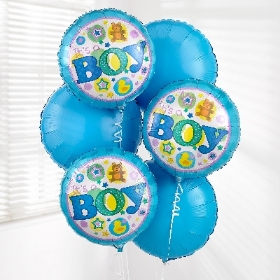 Baby Boy Balloon Bouquet Pack 2016 2016 2016 2016 2016