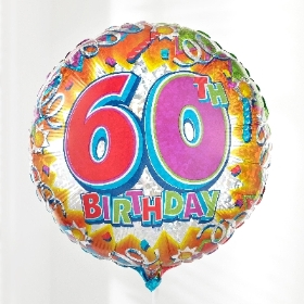 60th Birthday Balloon 2016 2016 2016 2016 2016